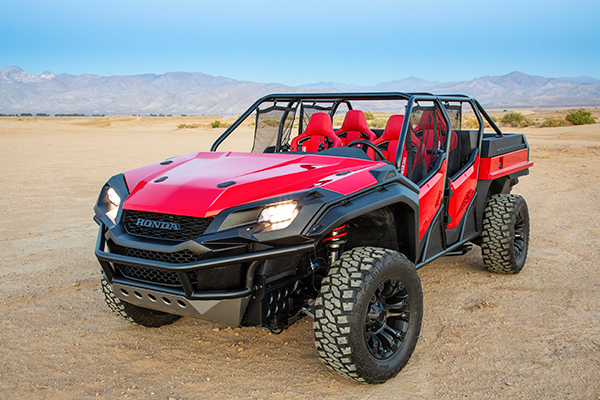 Honda Rugged Open-Air Vehicle Concept: SEMA Show featured image large thumb0