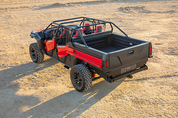 Honda Rugged Open-Air Vehicle Concept: SEMA Show featured image large thumb3