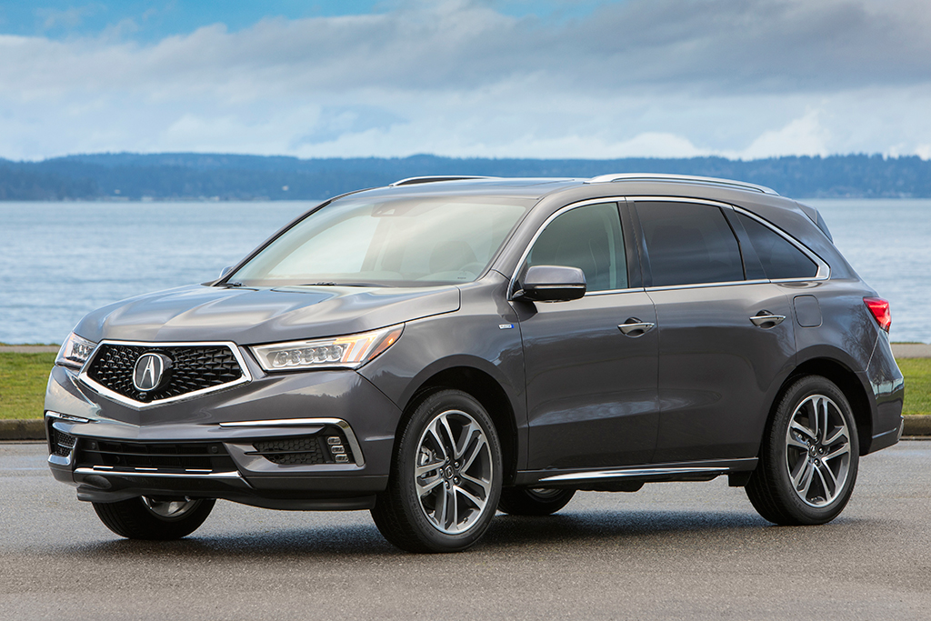 2019 Acura MDX Sport Hybrid: New Car Review featured image large thumb0