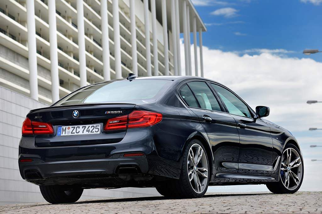 2019 BMW 5 Series: New Car Review featured image large thumb1