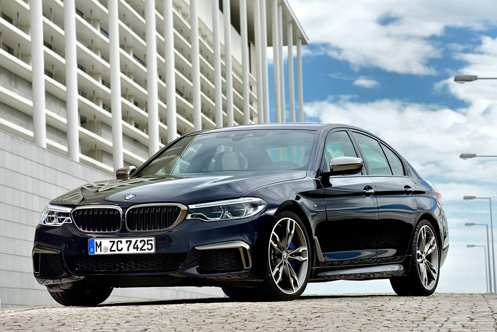 2019 BMW 5 Series: New Car Review featured image large thumb3