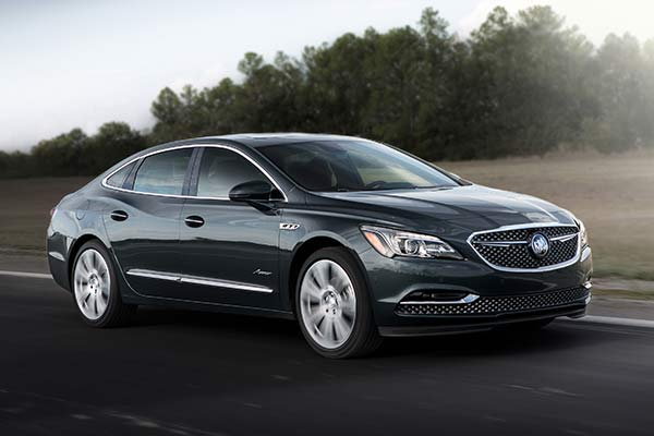 2018 Buick LaCrosse Avenir: First Drive Review featured image large thumb1