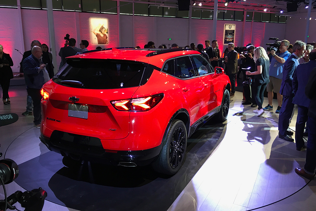 All New 2019 Chevrolet Blazer Is Unveiled In Atlanta Autotrader