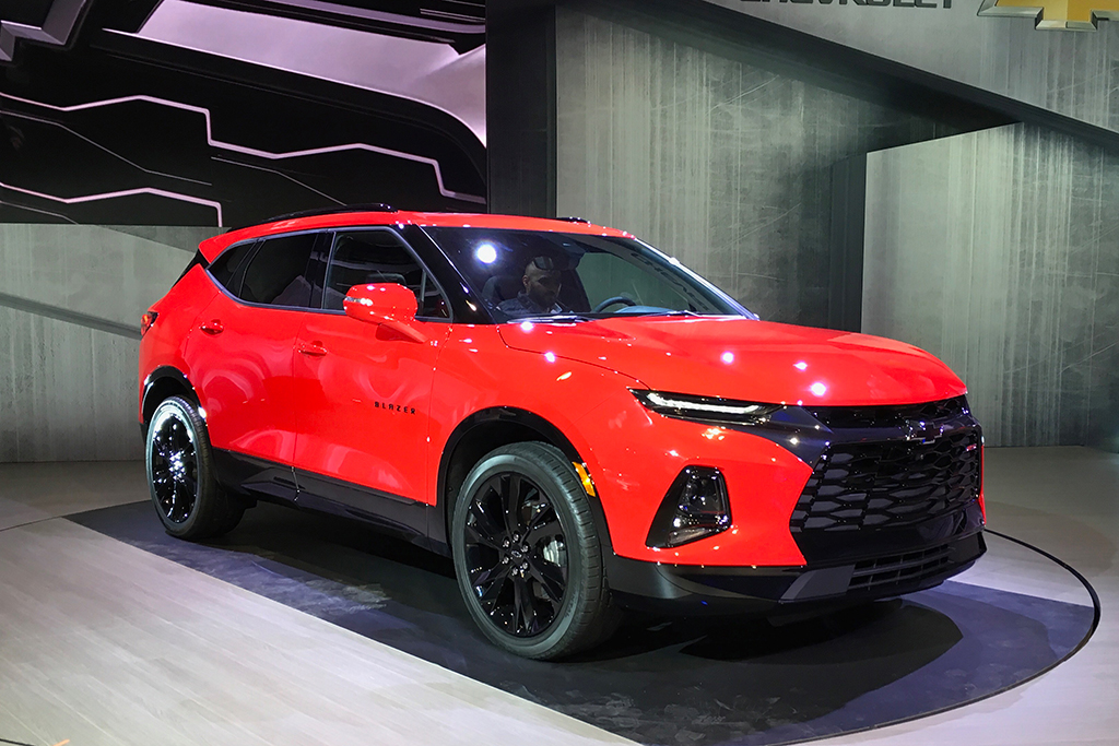 All New 2019 Chevrolet Blazer Is Unveiled In Atlanta