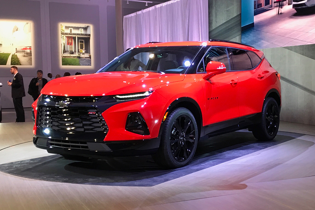All-New 2019 Chevrolet Blazer Is Unveiled in Atlanta ...