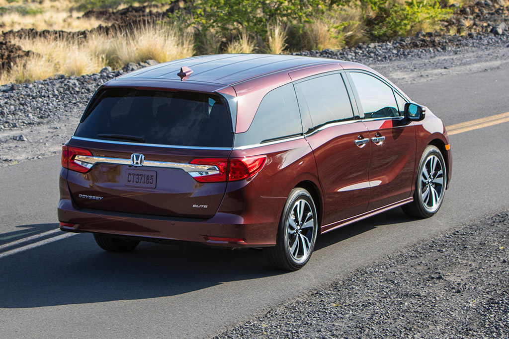 2019 Honda Odyssey: New Car Review featured image large thumb1