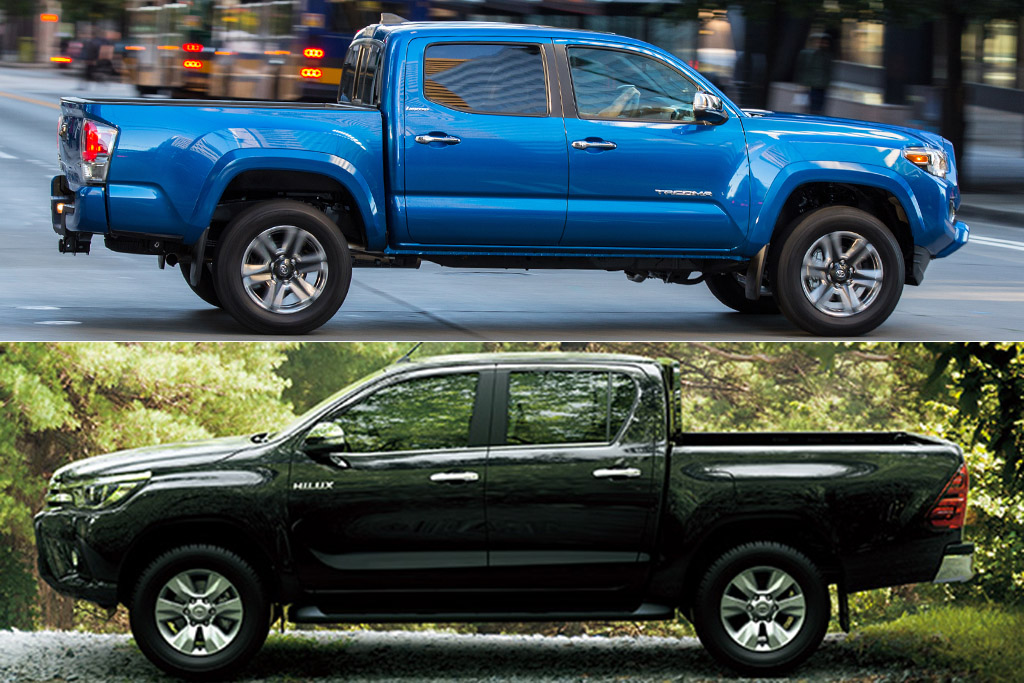 2018 Tacoma Diesel >> 2018 Toyota Tacoma Vs 2018 Toyota Hilux What S The