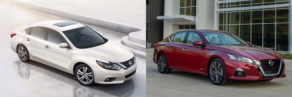 2018 vs. 2019 Nissan Altima: What's the Difference ...