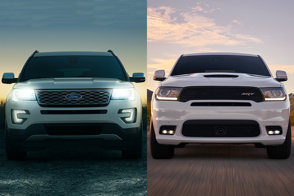 2019 Ford Explorer Vs 2019 Dodge Durango Which Is Better
