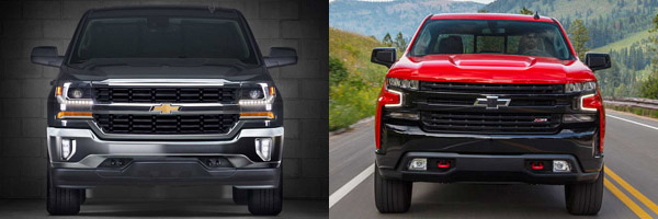 2018 vs  2019 Chevrolet Silverado: What's the Difference? - Autotrader