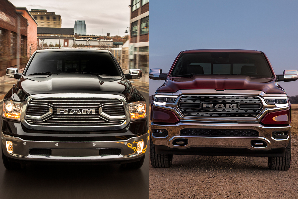 2018 vs  2019 Ram 1500: What's the Difference? - Autotrader
