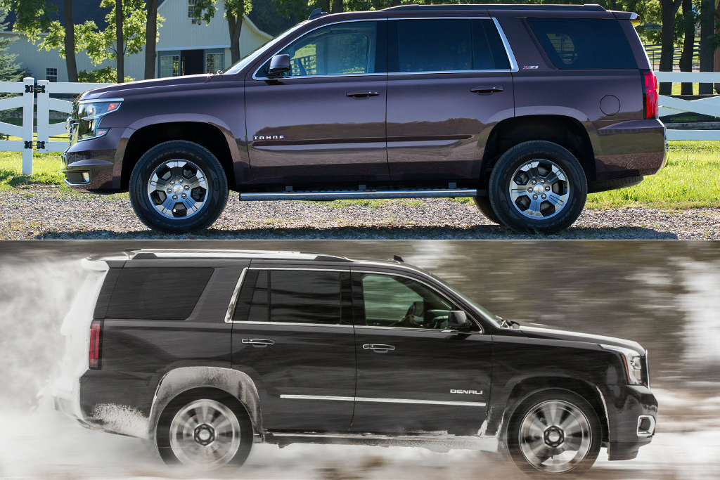 Chevy Tahoe Vs Gmc Yukon >> 2019 Chevrolet Tahoe Vs 2019 Gmc Yukon What S The