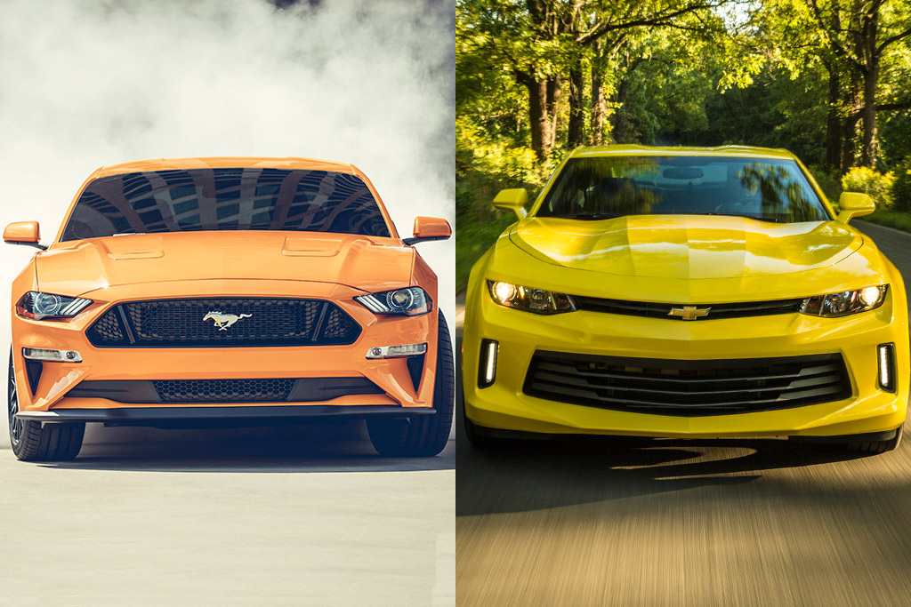 Mustang Vs Camaro >> 2019 Ford Mustang Vs 2019 Chevrolet Camaro Which Is Better