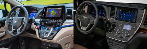 Honda Odyssey Vs Toyota Sienna >> 2019 Honda Odyssey vs. 2019 Toyota Sienna: Which Is Better ...