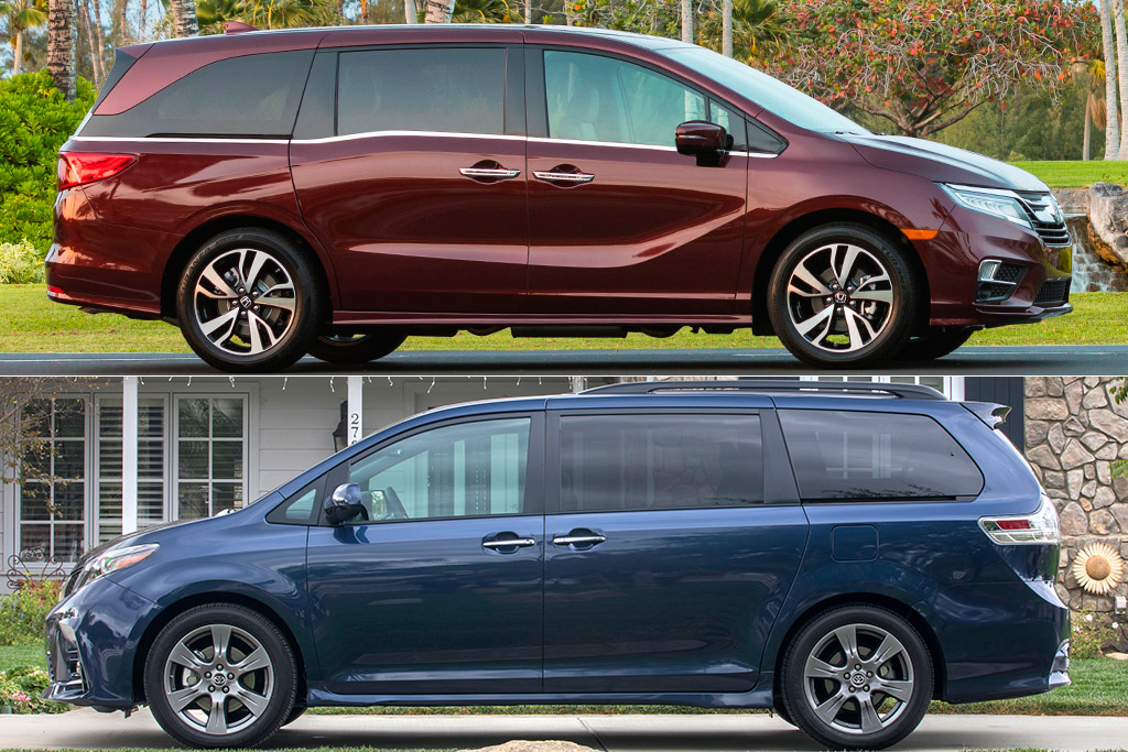 2019 Honda Odyssey vs  2019 Toyota Sienna: Which Is Better? - Autotrader