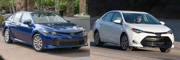 2019 Toyota Camry Vs 2019 Toyota Corolla What S The Difference