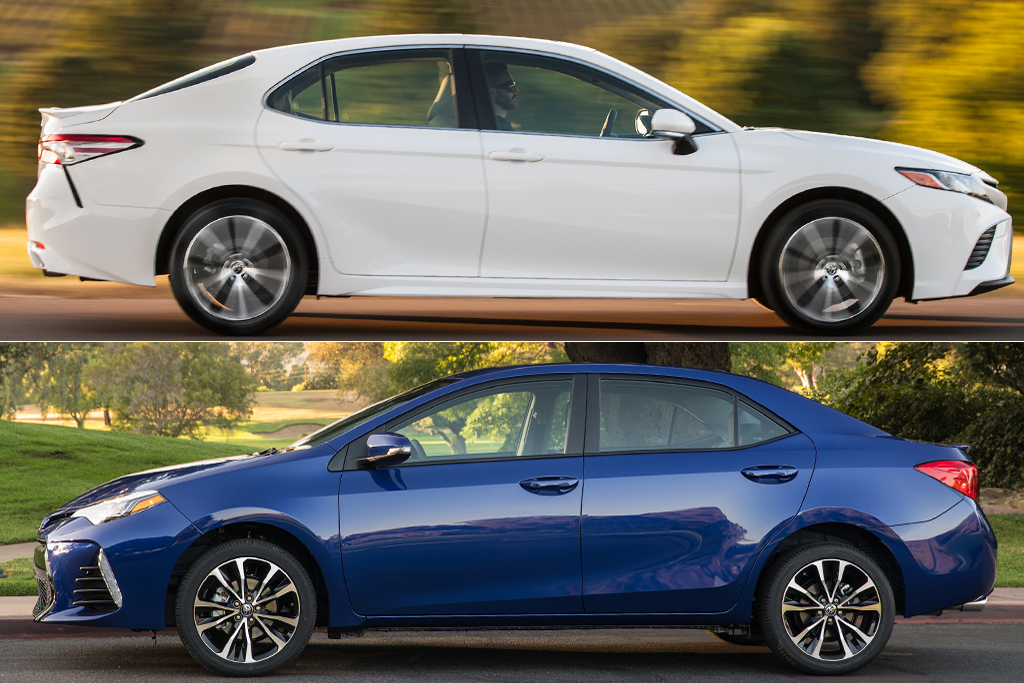 2019 Toyota Camry Vs Corolla What S The Difference Featured Image Large