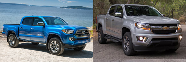 2019 Toyota Tacoma vs. 2019 Chevrolet Colorado: Which Is ...