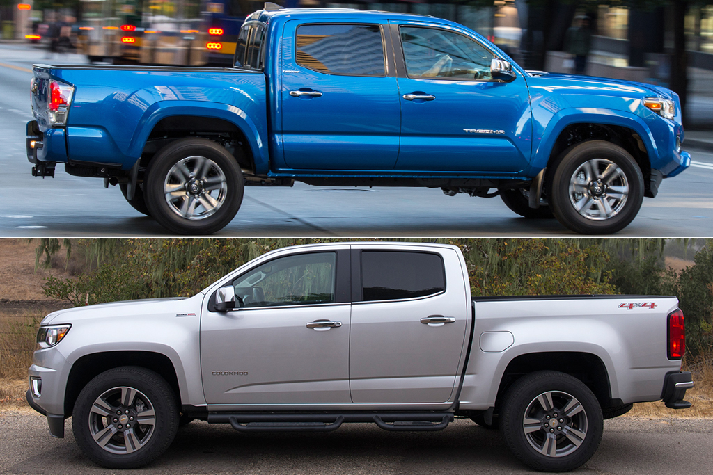 2019 Toyota Tacoma vs. 2019 Chevrolet Colorado: Which Is Better? featured image large thumb0