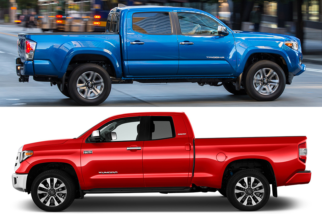 2019 Toyota Tacoma Vs 2019 Toyota Tundra What S The Difference
