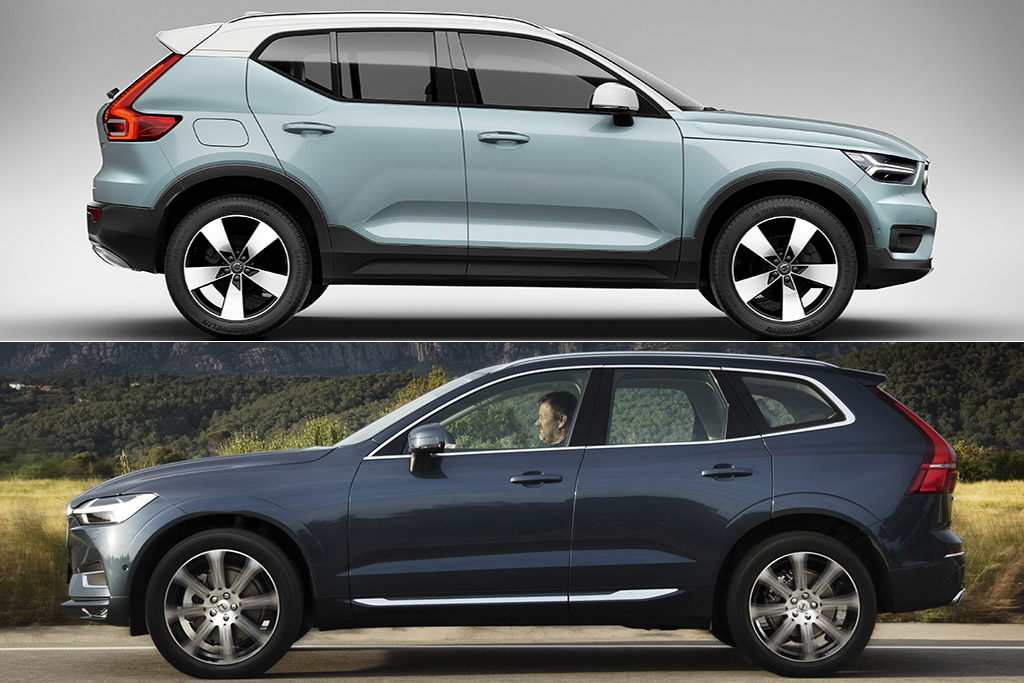 2019 Volvo XC40 vs. 2019 Volvo XC60: What's the Difference? featured image large thumb0
