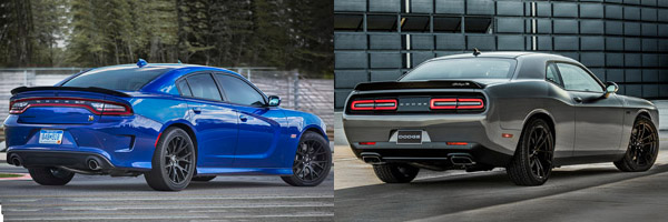Charger Vs Challenger >> 2019 Dodge Charger Vs 2019 Dodge Challenger What S The