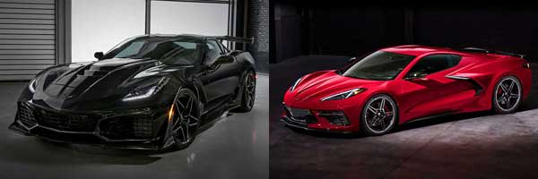 2019 vs. 2020 Chevrolet Corvette exterior