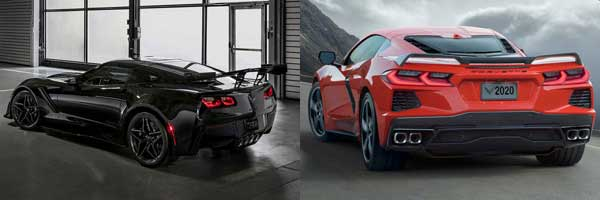 2019 vs. 2020 Chevrolet Corvette pricing