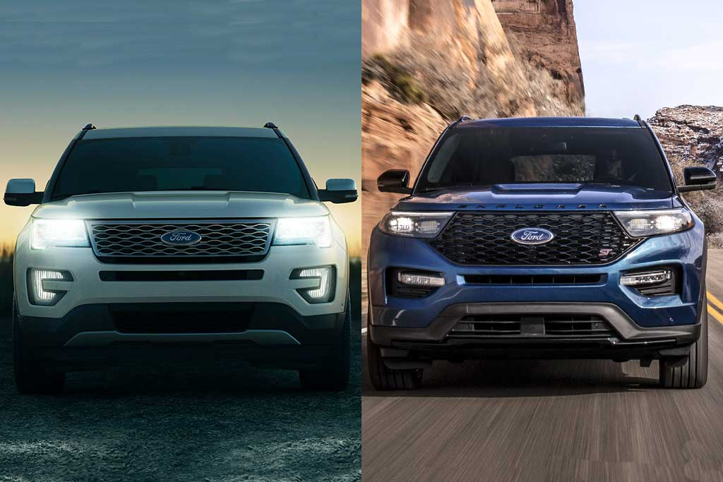 2019 vs. 2020 Ford Explorer: What's the Difference? featured image large thumb0
