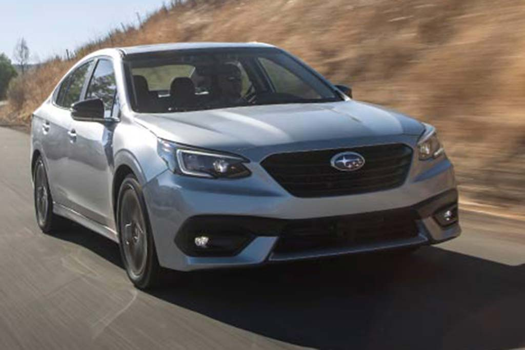 2019 vs. 2020 Subaru Legacy: What's the Difference? featured image large thumb9