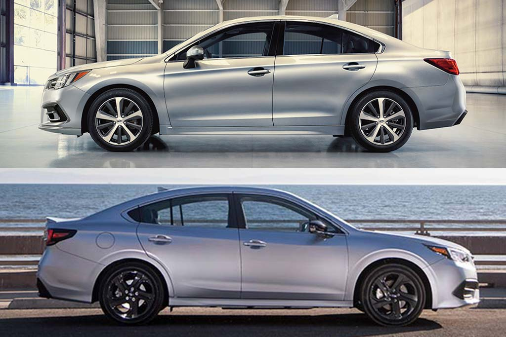 2019 vs. 2020 Subaru Legacy: What's the Difference? featured image large thumb1