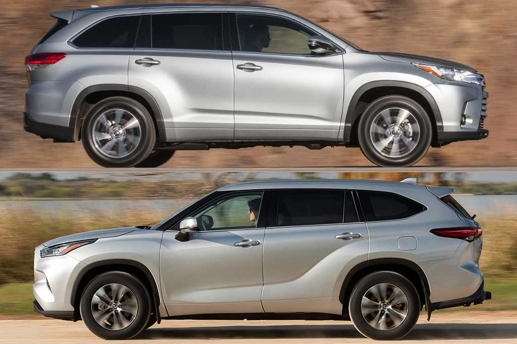 2019 vs  2020 toyota highlander  what u0026 39 s the difference
