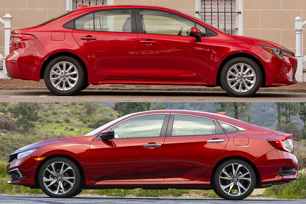 2020 Toyota Corolla vs. 2020 Honda Civic: Which Is Better? featured image large thumb0