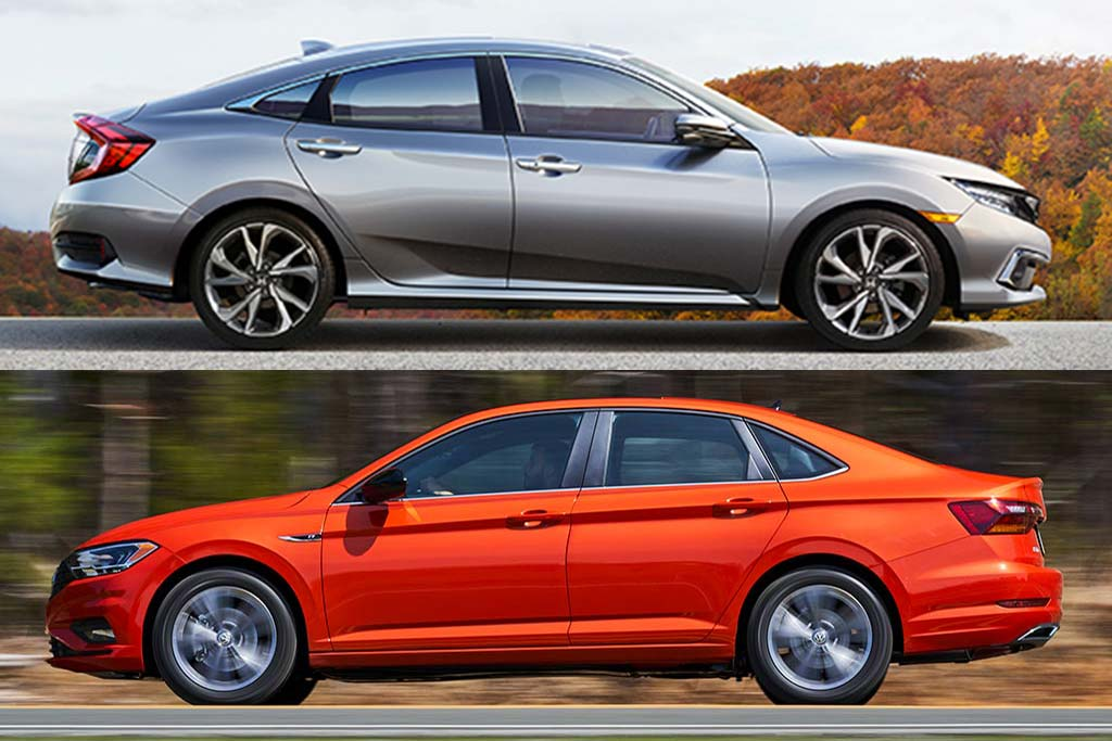 2020 Honda Civic vs. 2020 Volkswagen Jetta: Which Is Better? featured image large thumb0