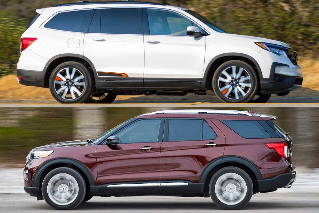 2020 Honda Pilot vs. 2020 Ford Explorer: Which Is Better? featured image large thumb0