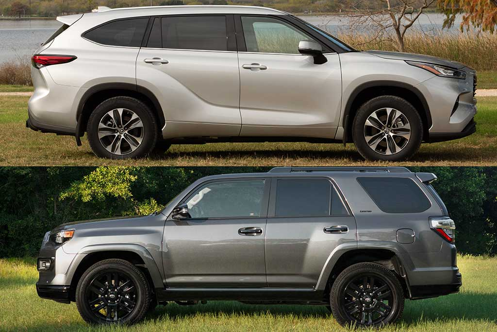 2020 toyota highlander vs  2020 toyota 4runner  what u0026 39 s the difference
