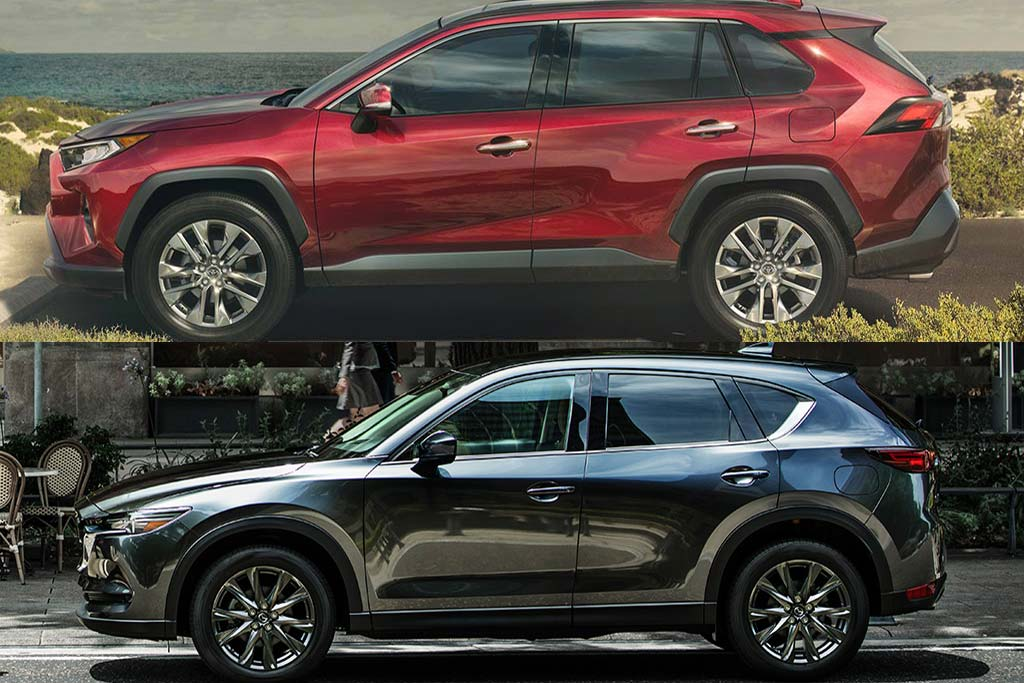 2020 Toyota RAV4 vs. 2020 Mazda CX-5: Which Is Better? featured image large thumb0