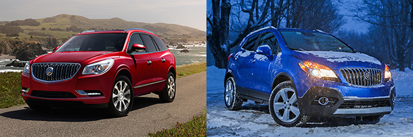 Buick Enclave and Encore