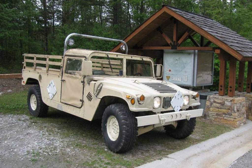 Autotrader Find: 1992 Military Humvee Pickup Truck featured image large thumb0