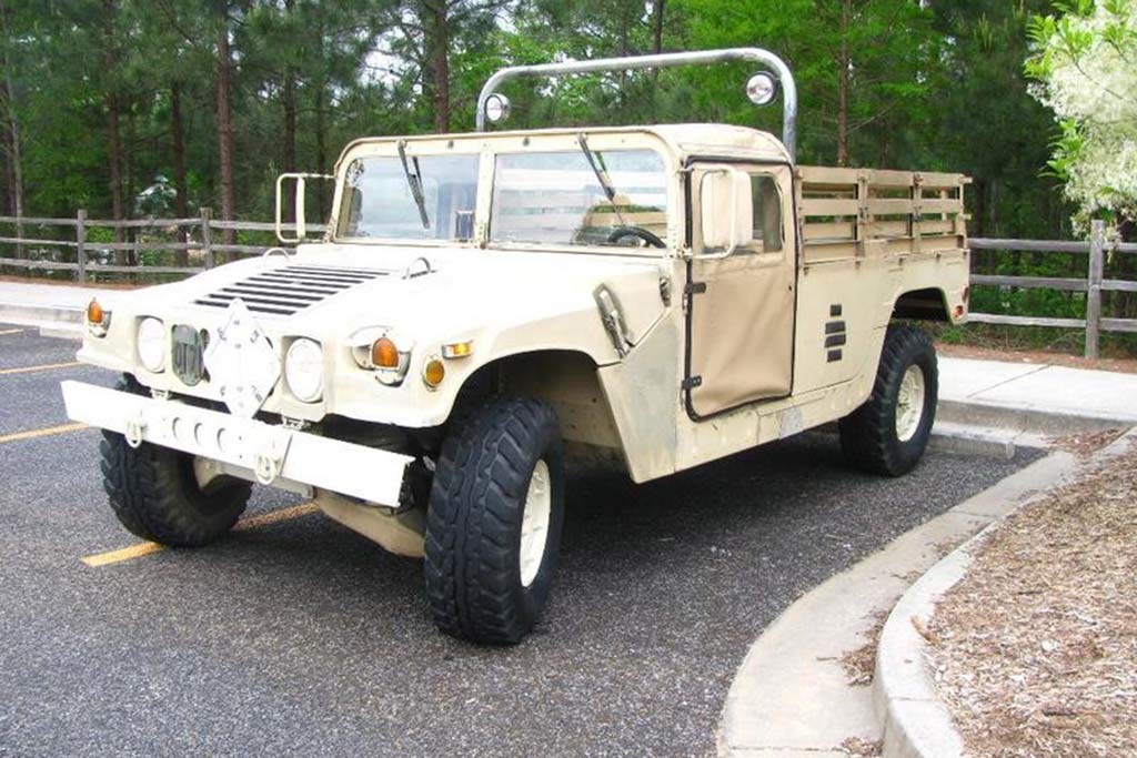 Autotrader Find: 1992 Military Humvee Pickup Truck featured image large thumb1