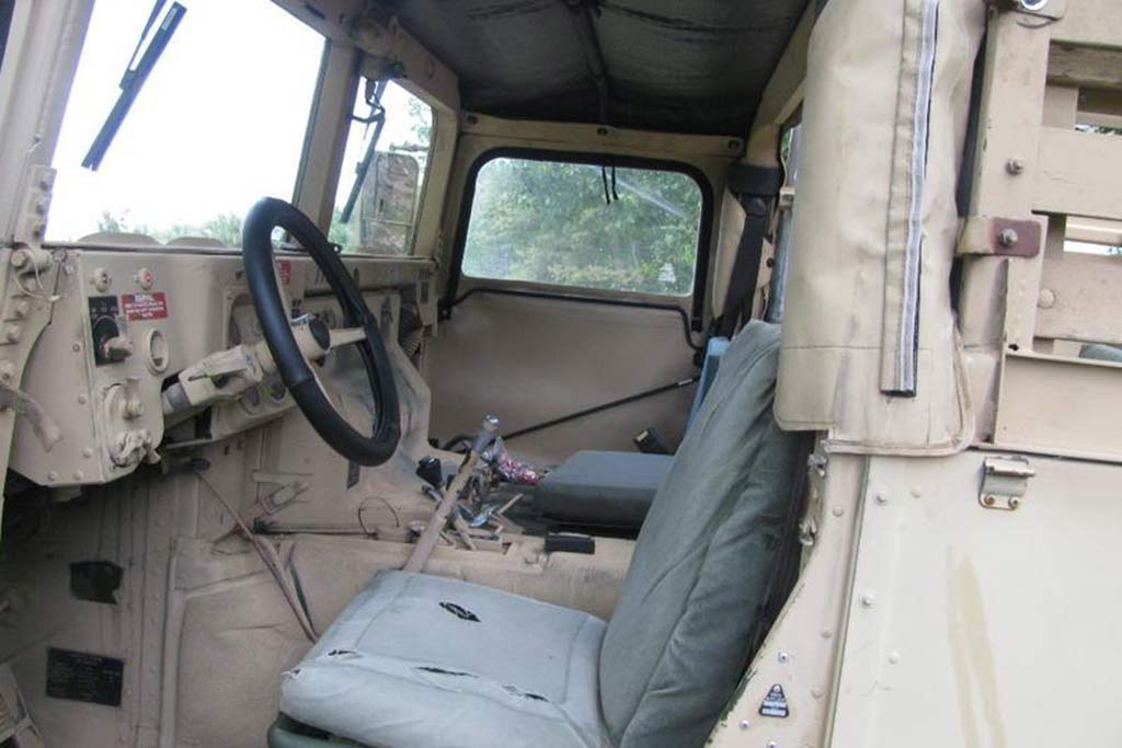 Autotrader Find: 1992 Military Humvee Pickup Truck featured image large thumb2