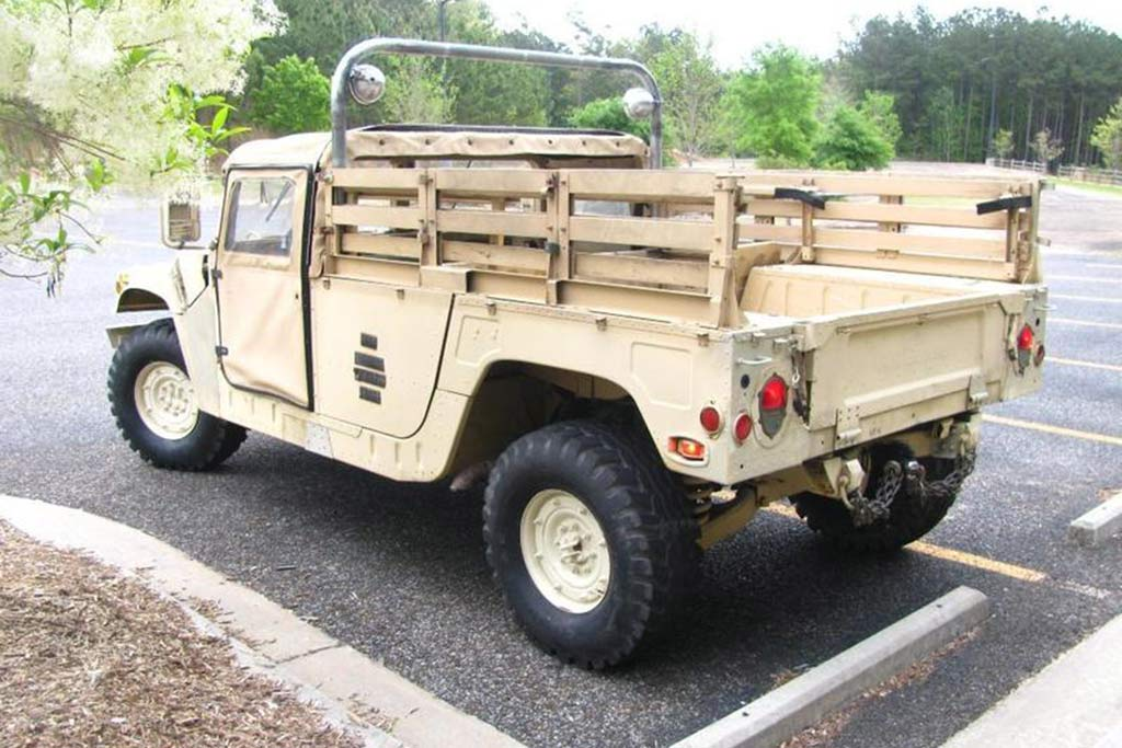 Autotrader Find: 1992 Military Humvee Pickup Truck featured image large thumb3