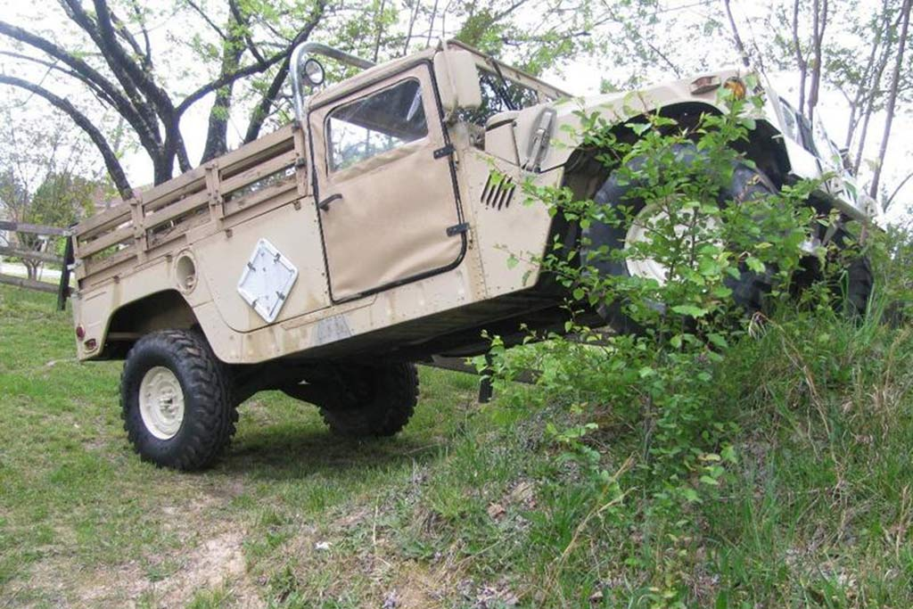 Autotrader Find: 1992 Military Humvee Pickup Truck featured image large thumb4