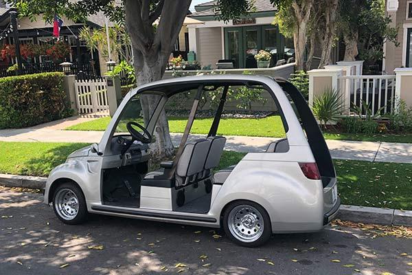 Here Is a Chrysler PT Cruiser Golf Cart - Autotrader Golf Cart Van on delivery cart, gem food truck cart, street cart, van pool, pushing grocery cart, crazy cart,