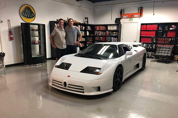 The Bugatti EB110 Has the Most Hilarious Corporate Grille featured image large thumb0