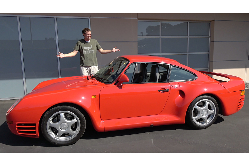Video The Porsche 959 Is A 15 Million Automotive Icon
