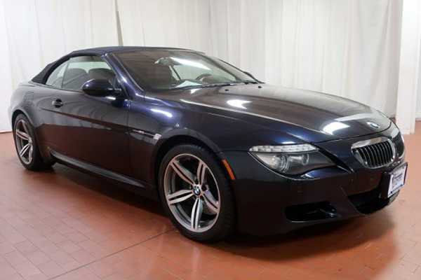 2010 BMW M6 Convertible 6-Speed Manual