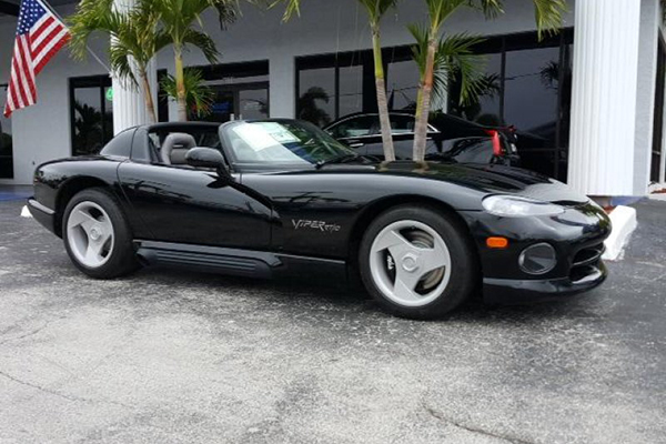 1994 Dodge Viper RT/10 with 26 Miles