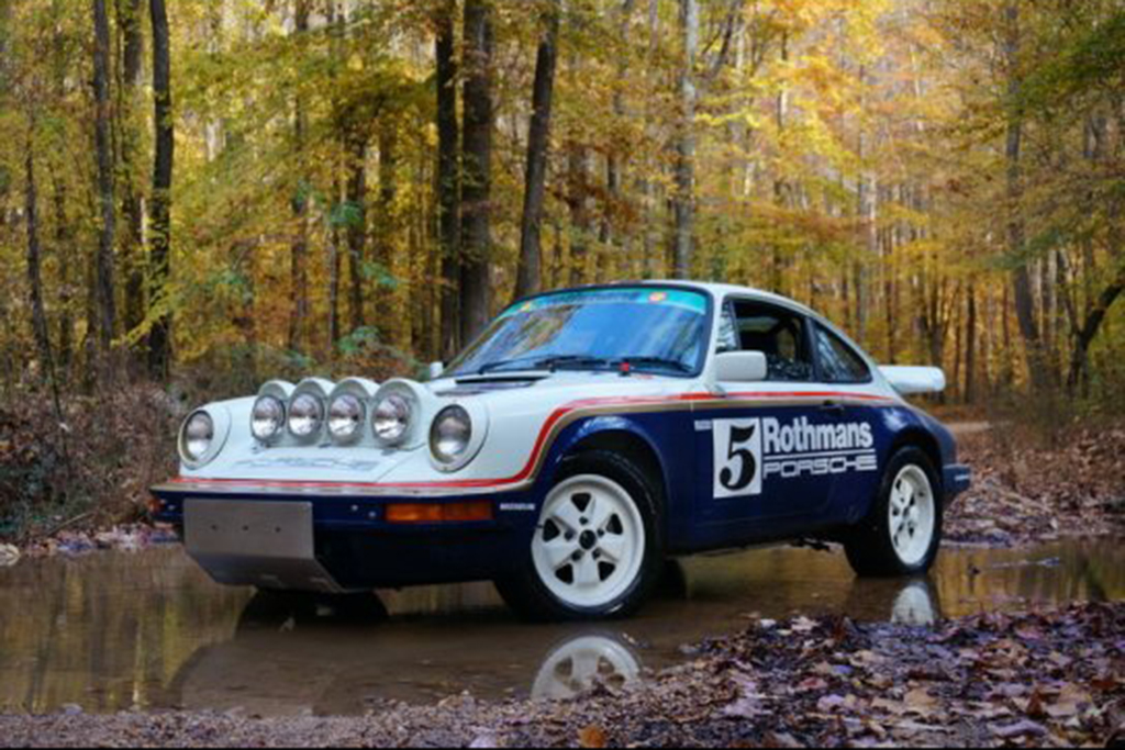 Autotrader Find 1983 Porsche 911 Rothmans Rally Car Tribute