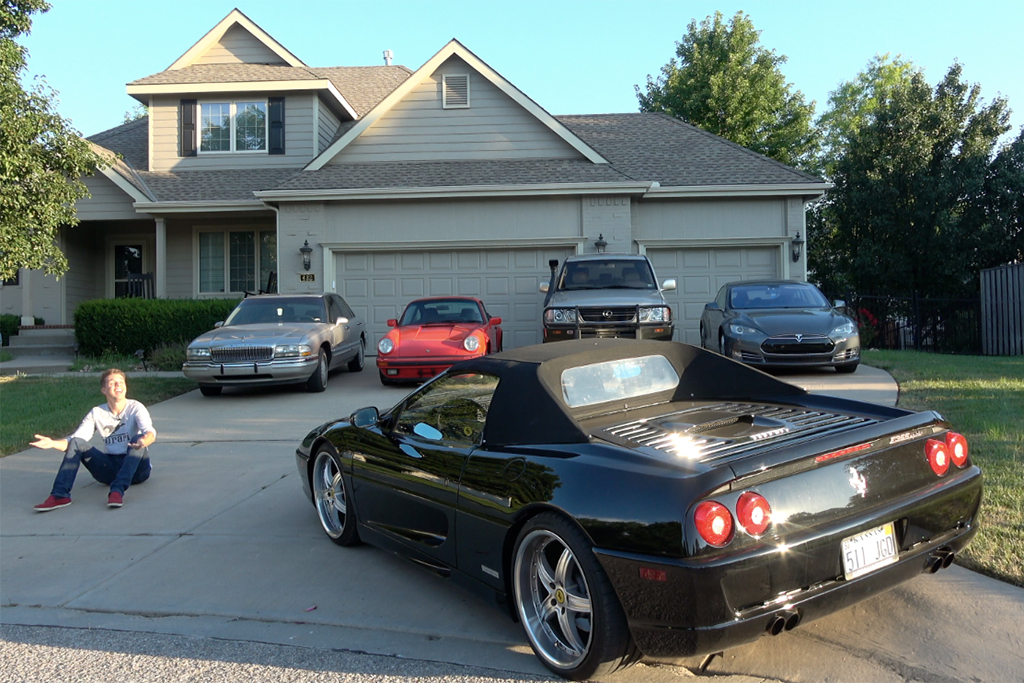 Here's What It's Like to Own Nearly 40 Cars featured image large thumb0